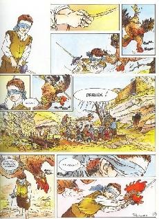 Extrait de La marque de la sorcière -3- Le roi des coqs
