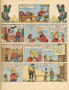 Extrait de Chick Bill (collection Jeune Europe) -4- L'ennemi aux cent visages