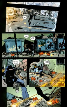 Extrait de DMZ (2006) -INT05- The Hidden War