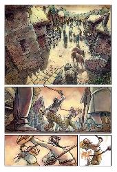 Extrait de Contes et légendes des pays celtes en bande dessinées - Contes et légendes des pays celtes en bandes dessinées