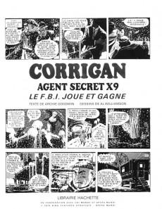 Extrait de Agent secret X9 -2- Corrigan - Le F.B.I. joue et gagne