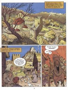 Extrait de Les aigles décapitées -7- La prisonnière du donjon