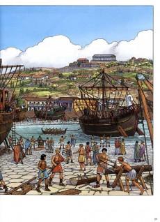 Extrait de Alix (Les Voyages d') -6- La marine antique (2)