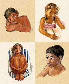 Extrait de (AUT) Guarnido - Sketchbook Guarnido