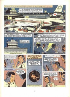 Extrait de Blake et Mortimer (Historique) -10- Les 3 Formules du Prof. Sato - 1re partie