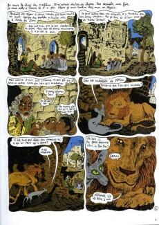 Extrait de Le chat du Rabbin -4- Le Paradis Terrestre