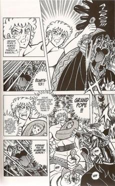 Extrait de Les chevaliers du zodiaque - Kana -7- Tome 7 - Toute la puissance de l'armure d'or