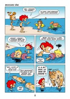 Extrait de Frenchy et Fanny -hs- A la plage !