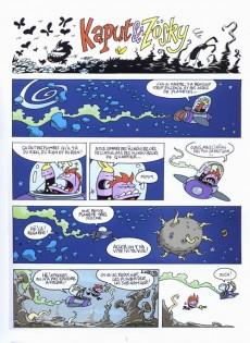 Extrait de Kaput & Zösky -2- Les flinguizeurs du cosmos
