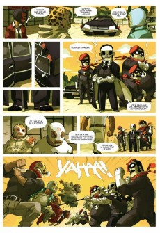 Extrait de Lucha Libre -1- Introducing: The Luchadores Five