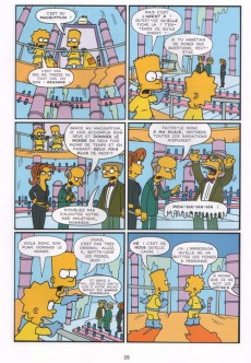 Extrait de Les simpson (Jungle) -5- Boing boing Bart !