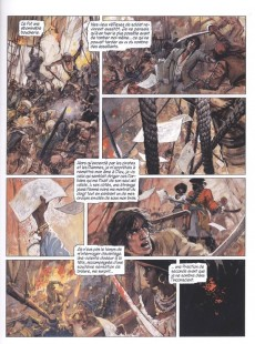 Extrait de La vengeance du Comte Skarbek -2- Un cœur de bronze