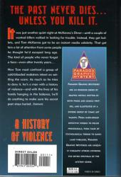 Verso de A History of Violence (1997) -GN- A history of violence