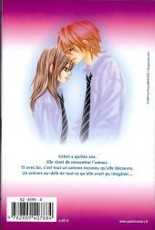 Verso de A romantic love story -1- Tome 1