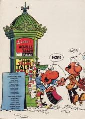 Verso de Achille Talon -9'- Les petits desseins d'achille talon