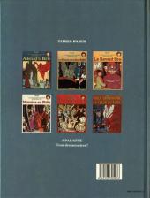 Verso de Adèle Blanc-Sec (Les Aventures Extraordinaires d') -6- Le noyé à deux têtes
