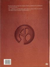 Verso de Agence Barbare -2- Les Gants de Zohorass