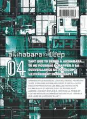 Verso de Akihabara@Deep -4- Tome 4
