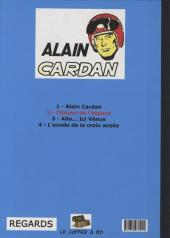 Verso de Alain Cardan -2- Citoyen de l'espace