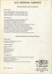 Verso de Alex Médoc et Belle Époque (Les aventures d') -1- Alex Médoc et Belle Époque Reporters