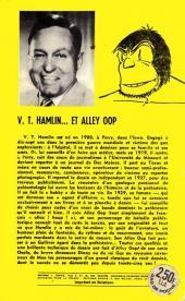 Verso de Alley Oop - Tome 1GP35