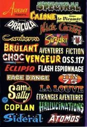 Verso de Aventures fiction (2e série) -39- Les lézards du vaudou