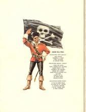 Verso de Barbe-Rouge -8- Le piège espagnol