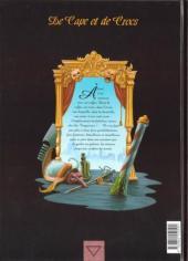 Verso de De Cape et de Crocs -1- Le secret du Janissaire