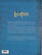 Verso de Le décalogue - Le Légataire -3- Le labyrinthe de Thot