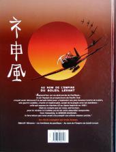 Verso de Le dernier kamikaze -3- Au nom de l'Empire du Soleil levant