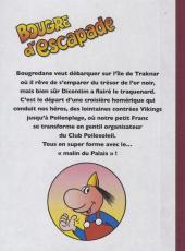Verso de Dicentim le petit franc -6- Bougre d'escapade
