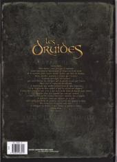 Verso de Les druides -3- La lance de Lug