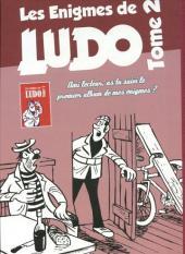 Verso de Les Énigmes de Ludo -2- Les énigmes de Ludo