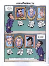 Verso de La face karchée de Sarkozy -3- Rien à branler