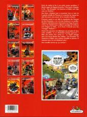 Verso de Les pompiers -10- Lance à incident