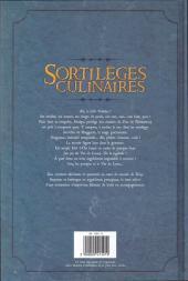 Verso de Sortilèges culinaires