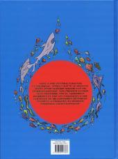 Verso de Spirou et Fantasio (Une aventure de / Le Spirou de...) -6- Panique en Atlantique