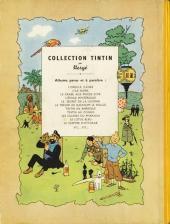 Verso de Tintin (Historique) -11B01- Le secret de la Licorne