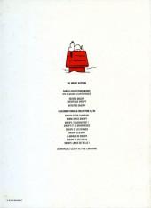 Verso de Peanuts -6- (Snoopy - Dargaud) -3- Intrépide Snoopy