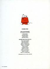 Verso de Peanuts -6- (Snoopy - Dargaud) -4- Imbattable Snoopy
