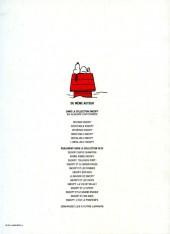 Verso de Peanuts -6- (Snoopy - Dargaud) -6- L'infaillible Snoopy