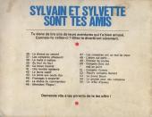 Verso de Sylvain et Sylvette (03-série : Fleurette nouvelle série) -56- Les compères chassent le tigre