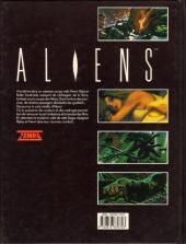 Verso de Aliens (Zenda) -1- Aliens Tome 1