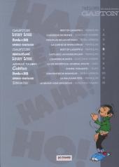 Verso de Les trésors de la bande dessinée -5- Gaston - Best of lagaffe 2