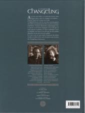 Verso de La légende du Changeling -3- Spring Heeled Jack