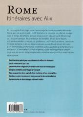 Verso de Alix -HS11- Rome - Itinéraires avec Alix