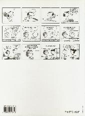 Verso de Peanuts -7- (Hors Collection) -2- Tu es l'invité d'honneur charlie Brown