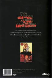 Verso de Alice au pays des merveilles - Artbook