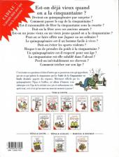 Verso de Le guide -12- Le guide de la cinquantaine