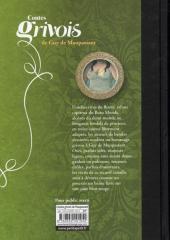 Verso de Poèmes érotiques - Contes grivois de Guy de Maupassant